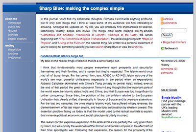 New Sharp Blue